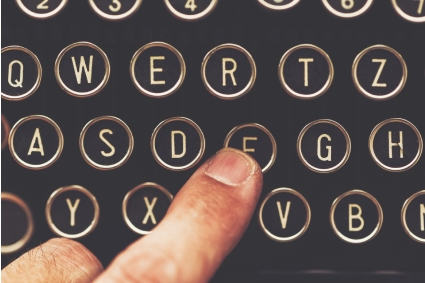 copywriter-web-teclado-vintage